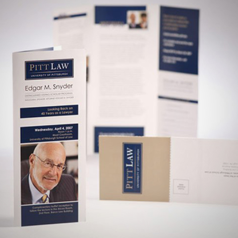 Pitt Law Edgar Snyder Brochure*