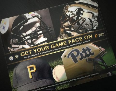 Pittsburgh Sports Teams Ad/VisitPittsburgh*