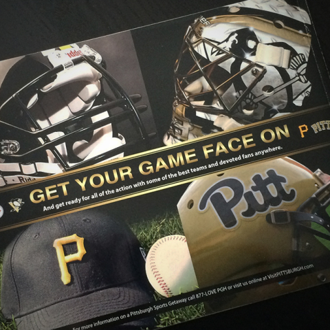 Pittsburgh Sports Teams Ad/VisitPittsburgh*