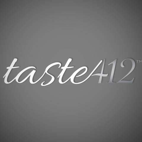 Taste412 Logo Design