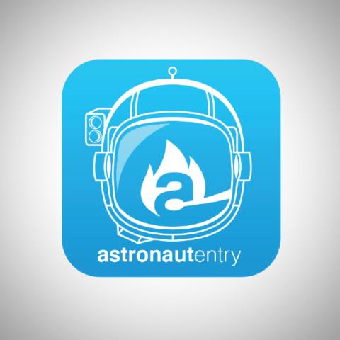 Astronaut Entry Logo