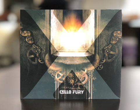 Cello Fury Album Design
